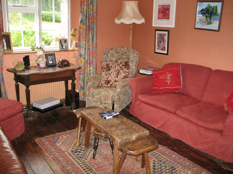 Browns barn sitting room, holiday cottage in Cornwall