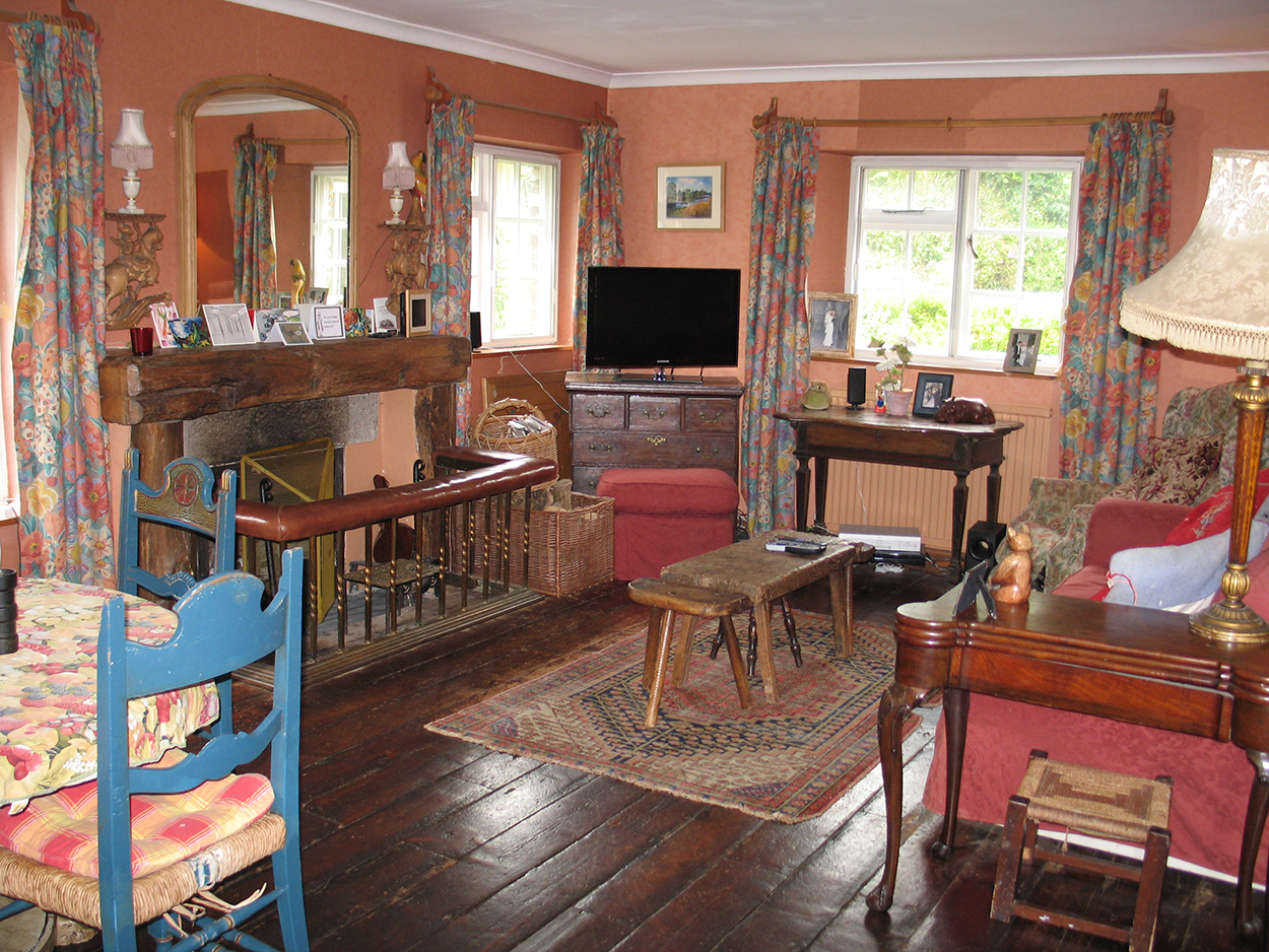 Browns barn sitting room