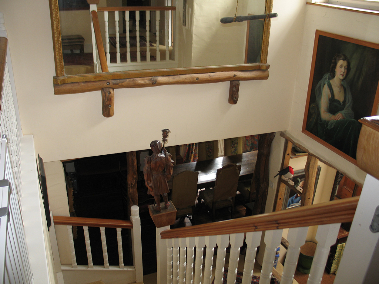 Browns Barn holiday letting staircase