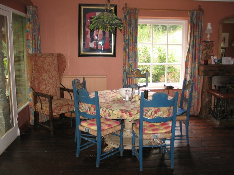 Browns barn dining room