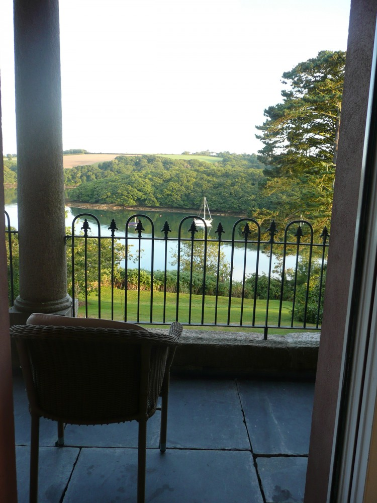 Lorelei Holiday Home view of Helford River Cornwall