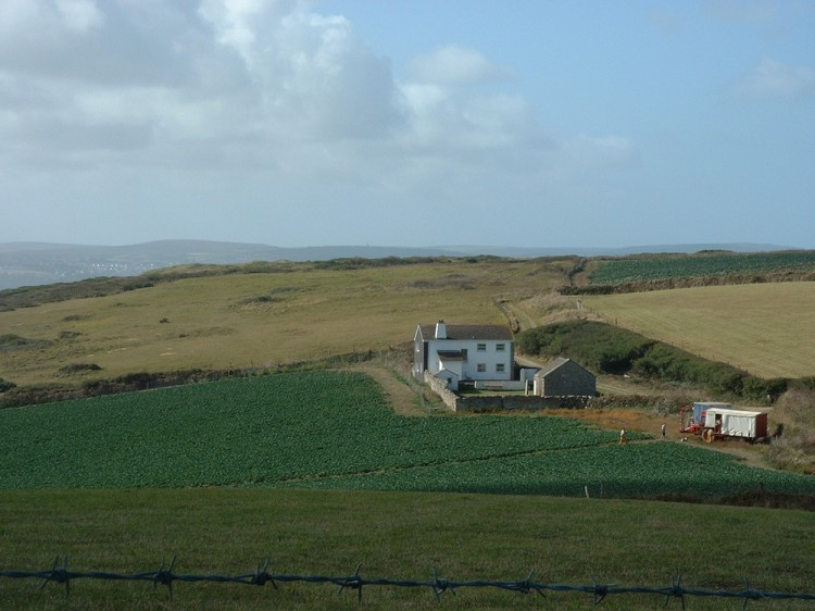 Pencobben holiday home in St Ives Cornwall with great view