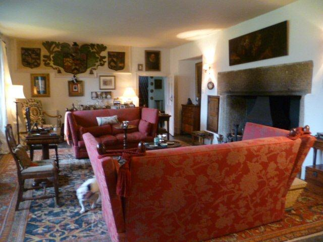 Tregarden holiday home drawing room