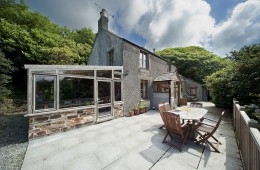 Holiday cottage on estate near Tintagel