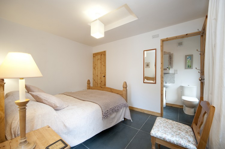 St Yse holiday cottage Tintagel, bedroom