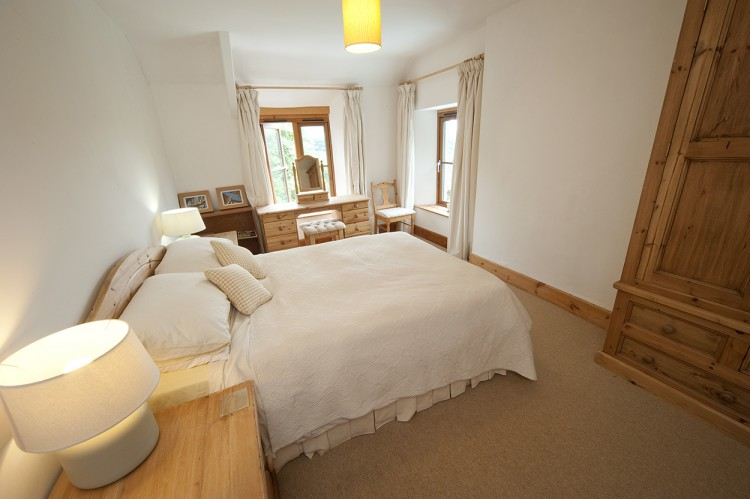 Holiday home Cornwall double bedroom