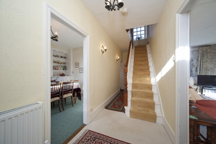Polwartha holiday home hallway