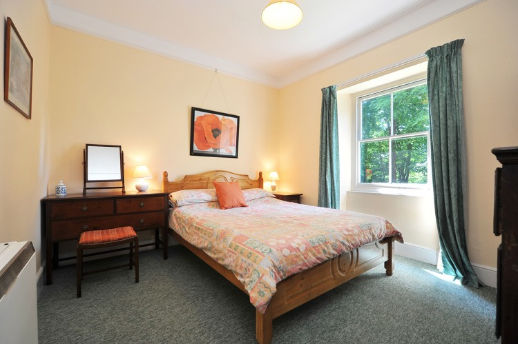 Double bedroom at Bosvathick Lodge