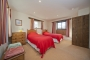 Badgers holiday home twin bedroom