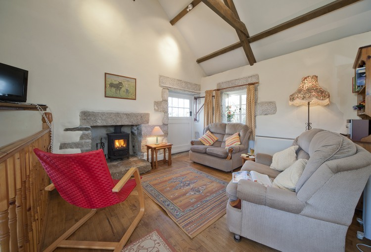 Badgers holiday home sitting room