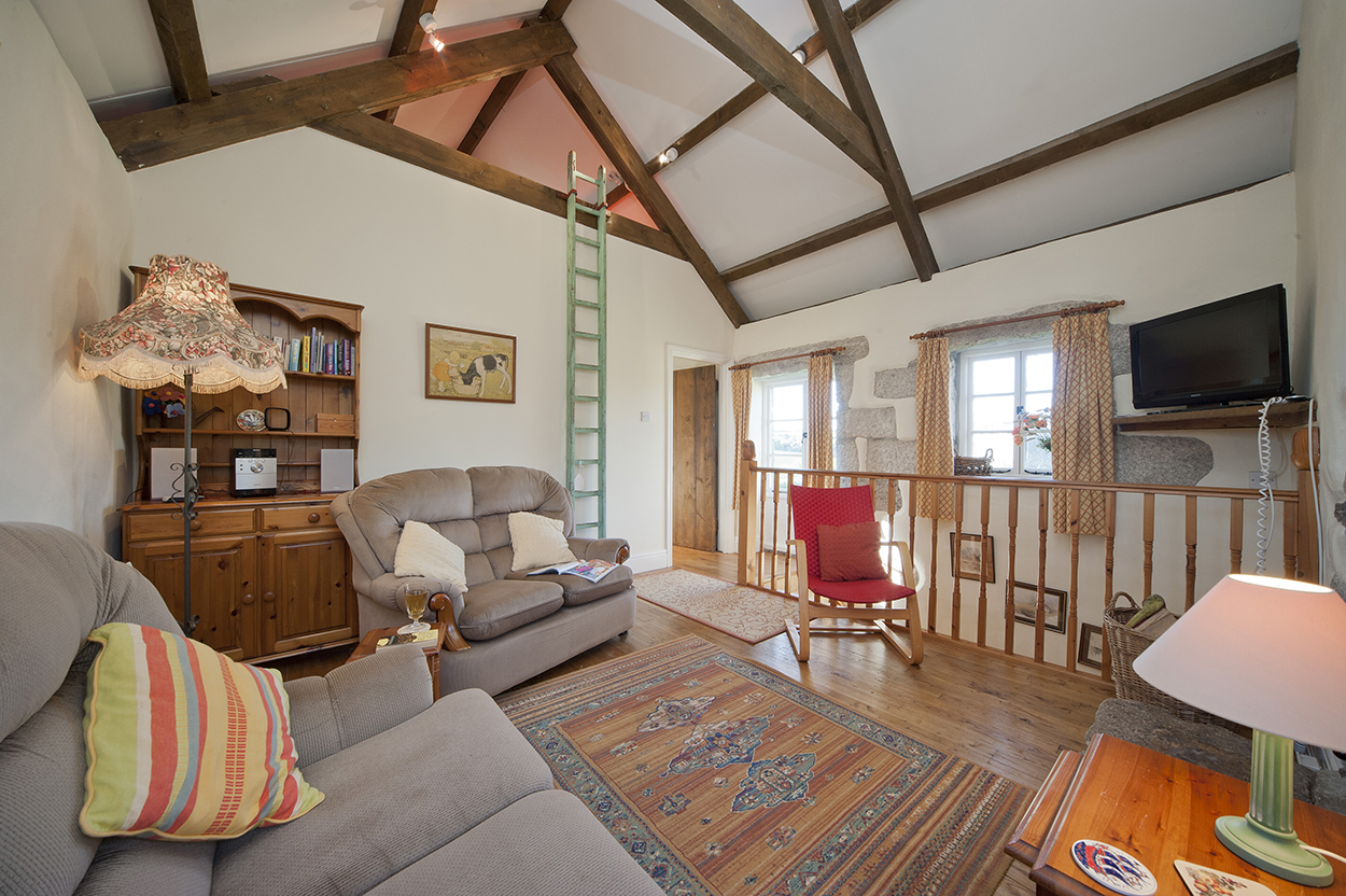 Badgers holiday home sitting area
