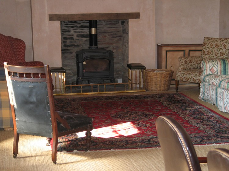 Holiday cottage to rent Cornwall living room
