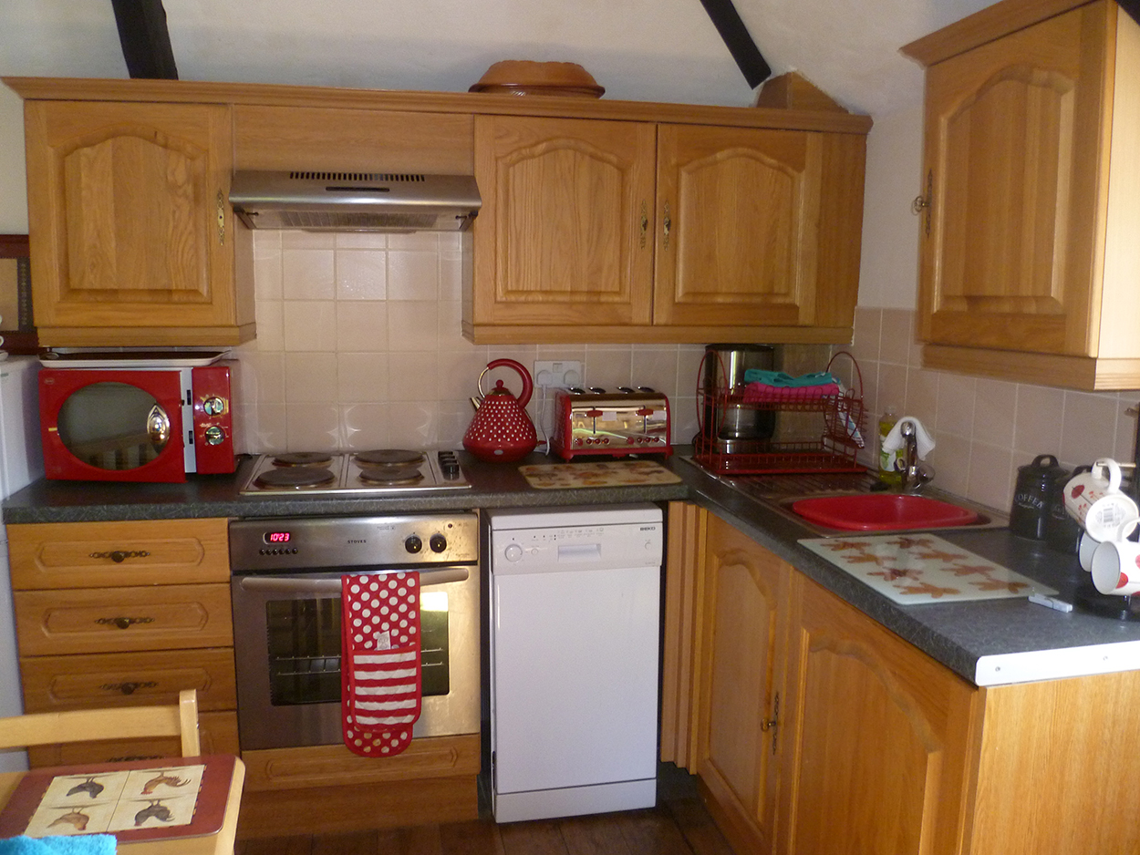 Josiah's holiday cottage kitchen