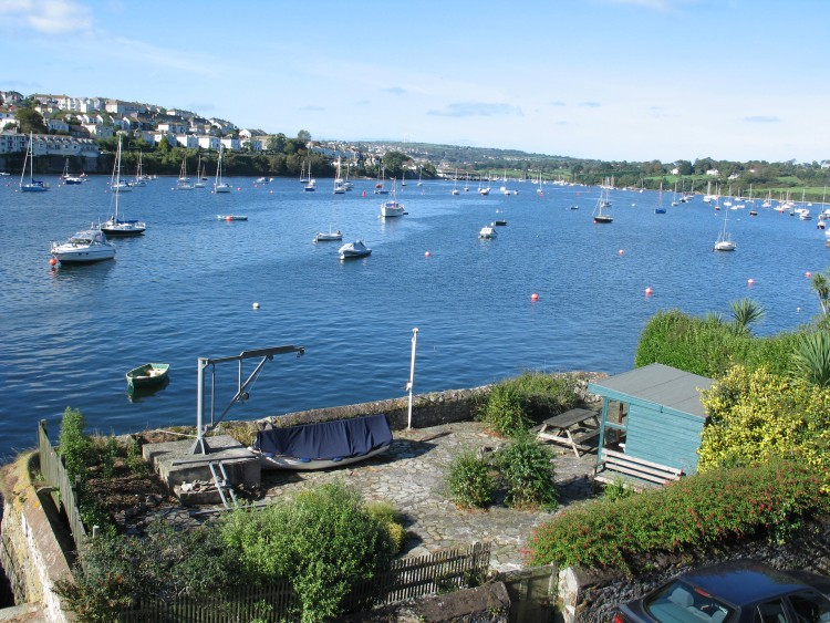 The view from Quay House, Flushing