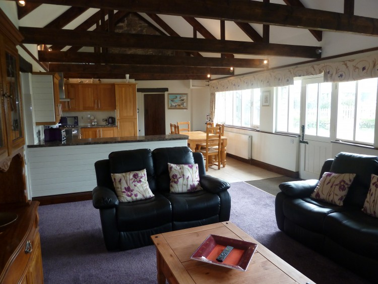 Holiday Cottage Port Isaac Waggon House Living Room